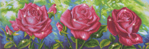 Diamond Dotz Les Roses du Jardin