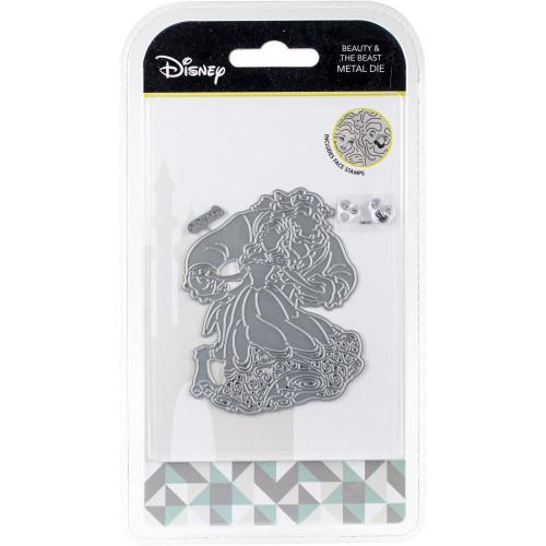Disney Beauty & The Beast Metal Die & Stamp Set