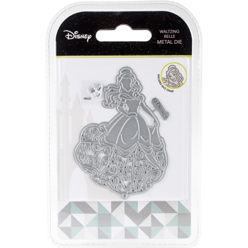 Disney Waltzing Belle Metal Die & Stamp Set