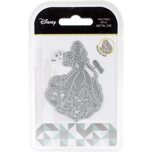 Disney Waltzing Belle Metal Die & Stamp Set