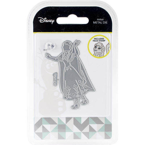 Disney Frozen Anna Metal Die & Stamp Set