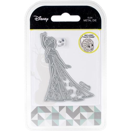 Disney Frozen Elsa Metal Die & Stamp Set