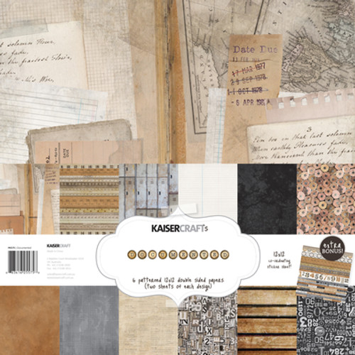 KaiserCraft Documented Paper Pack