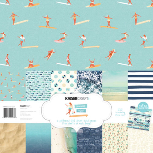 KaiserCraft Summer Splash Paper Pack