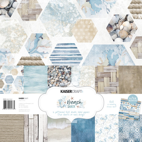 KaiserCraft Beach Shack Paper Pack