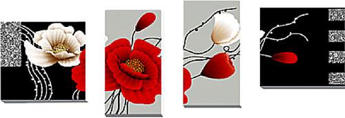 Diamond Dotz Art Deco Poppies