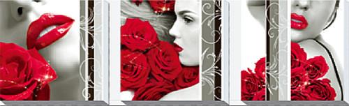 Diamond Dotz Rose Romance