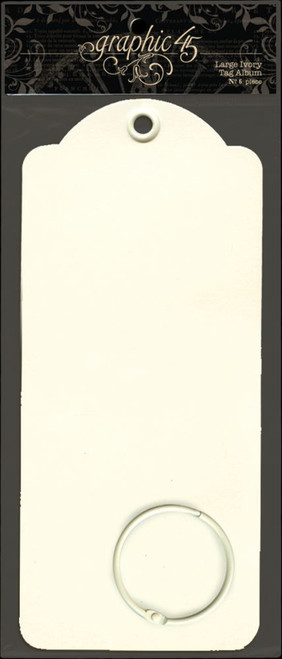 Graphic 45 Large Ivory Tags