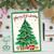 Diamond Dotz Christmas Tree Greeting Card
