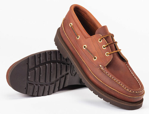 Russell Casual Trail Shoe - Rust Chamois