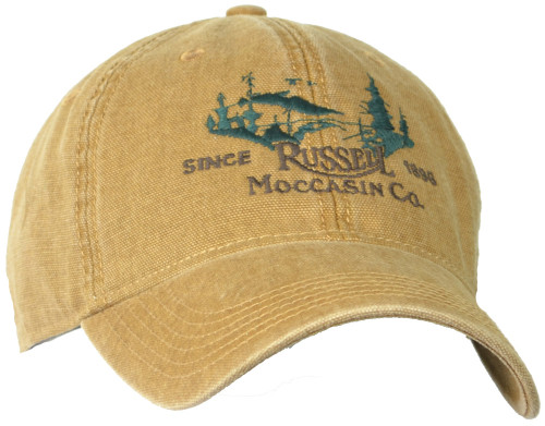Russell Moccasin Tan Field Cap