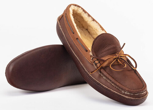 Russell Sheepskin Lined Moccasin (In-Stock)
