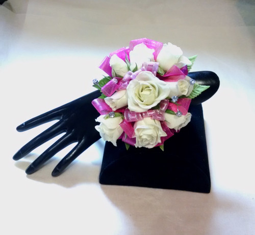 Spray Rose Wrist Corsage-Pick Up Only