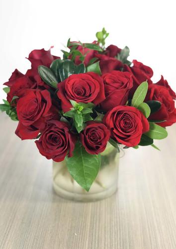 18 Short Stem Roses
