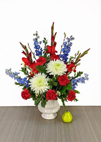 Funeral Urn Patriotic