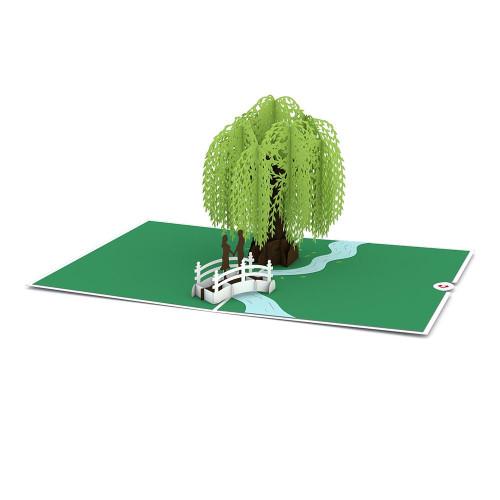 Lovepop Willow Tree Love Scene Card