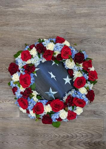 Memorial Wreath Patriotic
