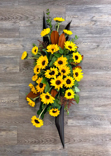 Standing Spray in Sunflowers