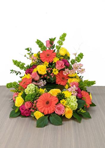 Cremation Urn Riser Memorial in Vibrant colors