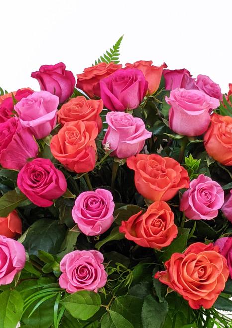 50 Long Stem Roses