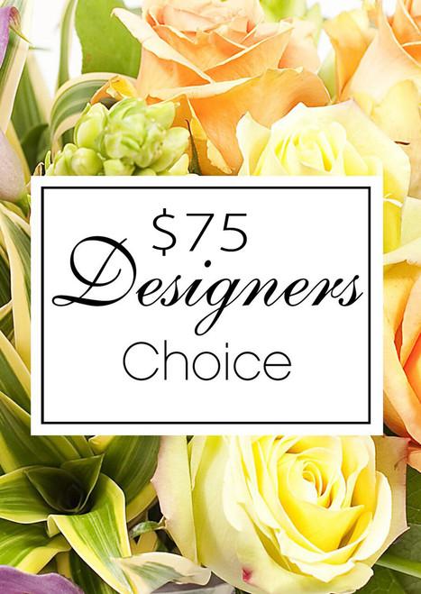 $75 Designer's Choice