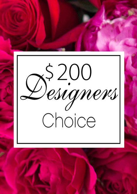 Valentines Day $200 Designer's Choice