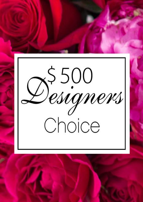 Valentines Day $500 Designer's Choice