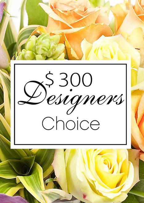 $300 Designer's Choice