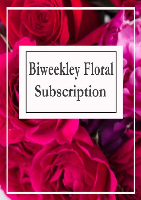 Biweekly subscription $75 - $225