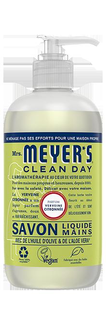 mrs meyers savon mains verveine citronnée