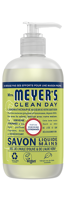 mrs meyers savon mains verveine citronnée