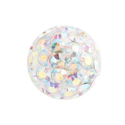 Smooth Glitzy Ball Attachment
