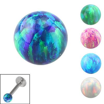 Opalite Threaded Ball