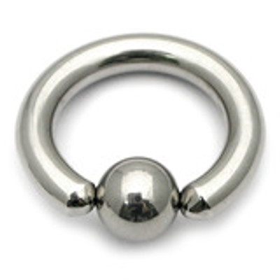 Surgical Steel Ball Closure Ring (Large Gauge)