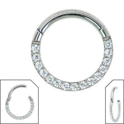 jewelled hinged ring
