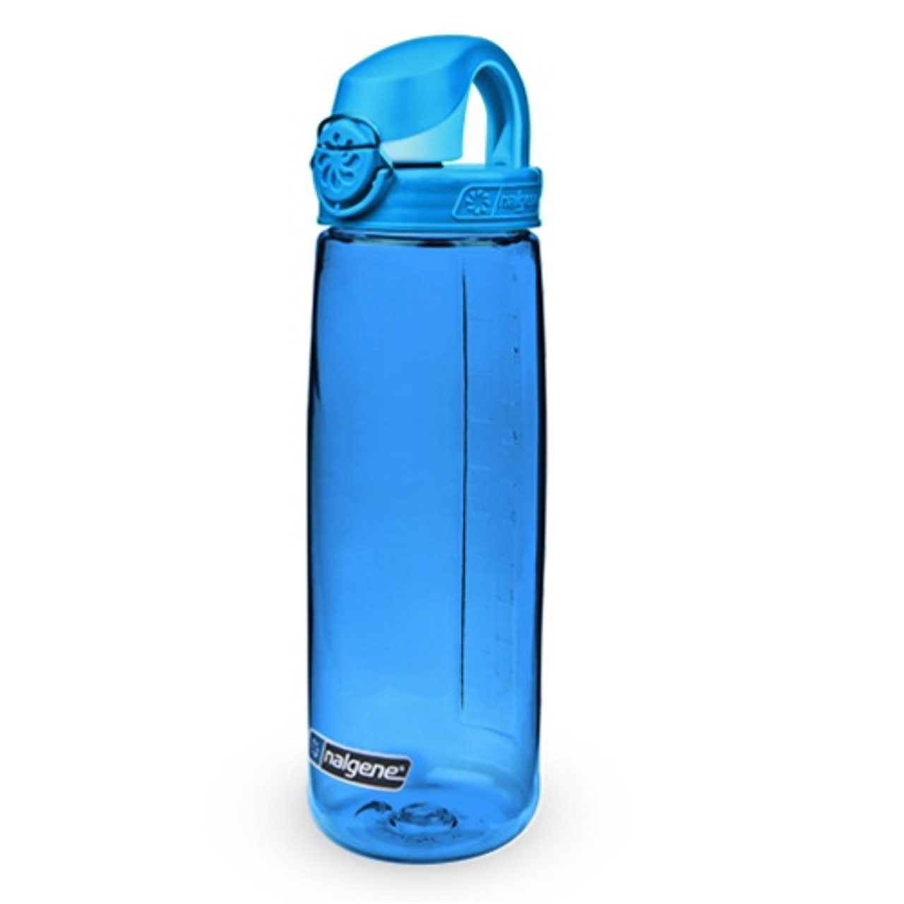 2 Pack Nalgene On The Fly 24oz Water Bottle Blue With Glacial Blue Cap