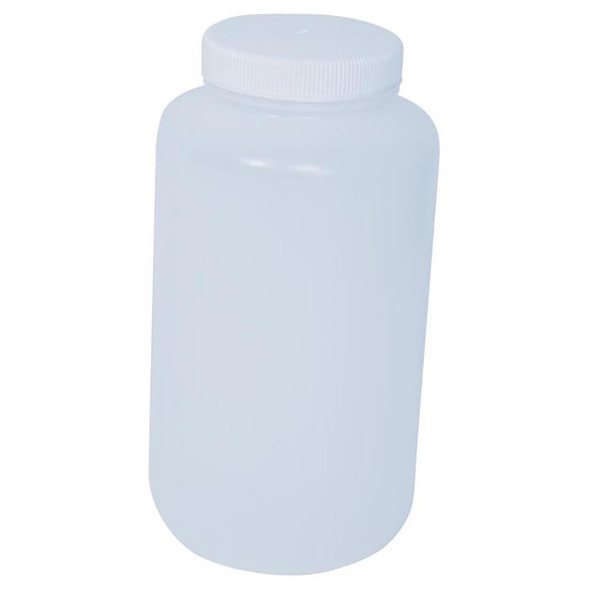 Nalgene Poly Wide Mouth Round Bottle BPA Free 1 gal (128oz)