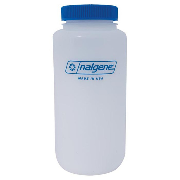 Nalgene Poly Wide Mouth Round Bottle BPA Free 1 qt (32oz)