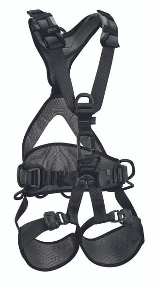 Petzl C71AFN AVAO BOD FAST Full Body Harness - Black