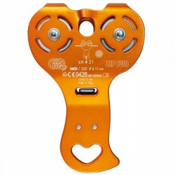 Kong Zip EVO Pulley (Ball Bearing) without Hook