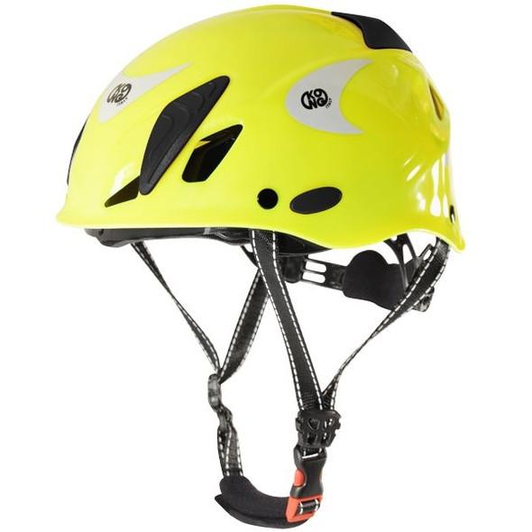 Kong Mouse Work Helmet Yellow Fluo Reflective
