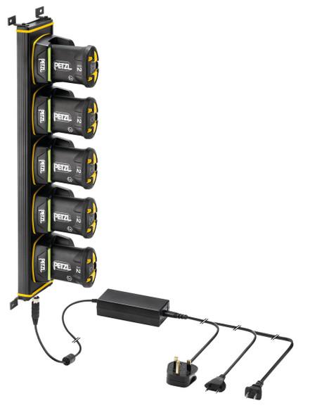 Petzl E80003 Charging Rack 5 Duo Z1
