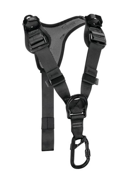 Petzl C081AA01 Top Chest Harness Black