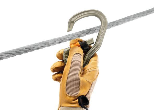 Petzl Vertigo Wire-Lock Park Carabiner (10 pack)