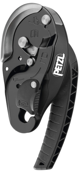 Petzl D020AA01 I'D S Descender Black