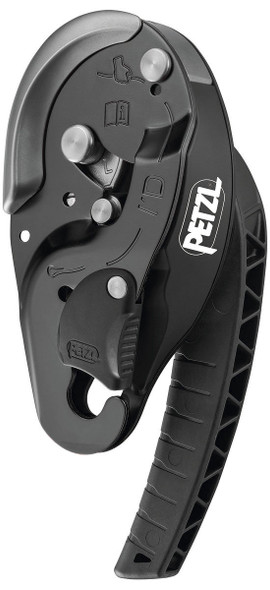 Petzl D020BA01 I'D L Descender Black