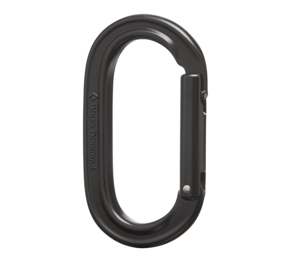 Black Diamond Oval Keylock - black