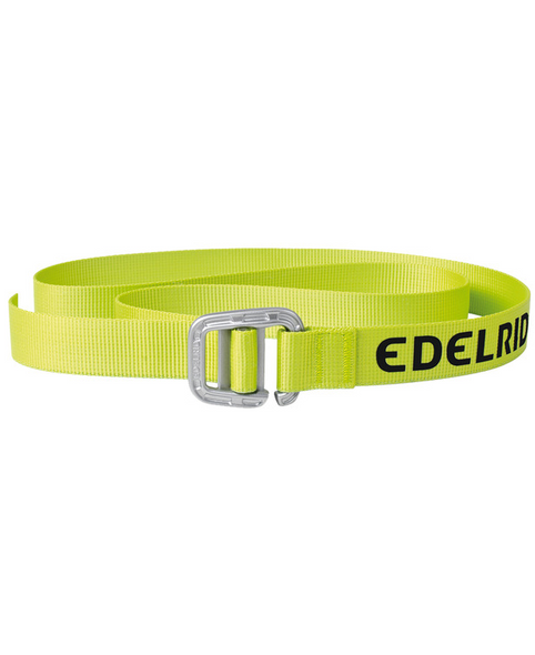 Edelrid Turley Belt 25mm, 120cm, Chute Green