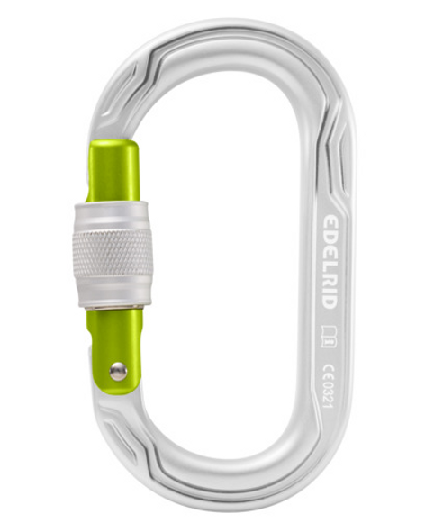 Edelrid Oval Power 2500 Carabiner, Silver