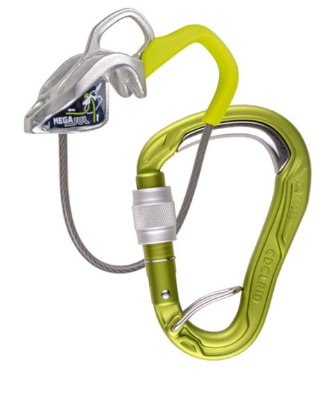 Edelrid Mega Jul Belay Kit with HMS Bulletproof Screw